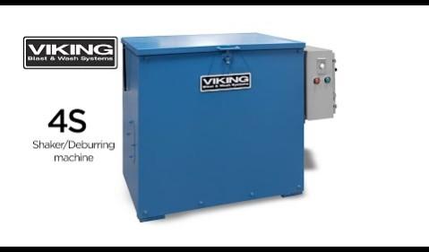 4s Vibratory Shaker and Deburring Machine