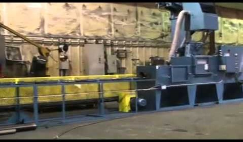 Viking Blast & Wash System SR6 Skew Roll Blaster
