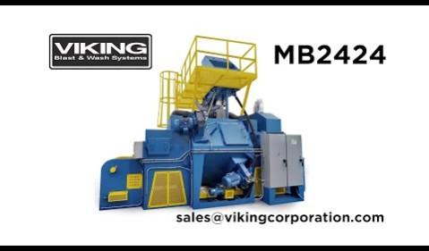 MB2424 Mesh Belt Shot Blaster