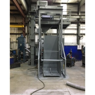 Used Wheelabrator 14cu Steel Tumble Blaster Used Equipment Viking Corporation 5
