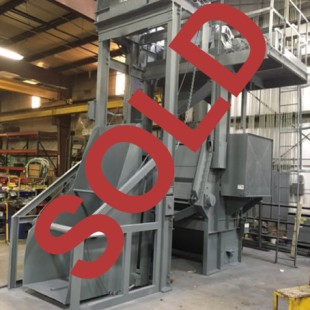 Used Wheelabrator 14CU Steel Belt Super 1 Blaster