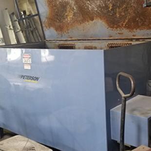Used 700 aqueous hot tank washer